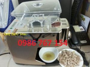 Máy ép dầu lạc gia đình BOZY-01 công suất 4kg/giờ Dầu ép ra vàng trong luôn, sử dụng được luôn Giá KM: 7.000.000đ
