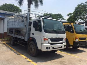 Xe tải Mitsubishi Fuso FI 7T, fuso 7T thùng mui bạt, fuso 7T thùng kín