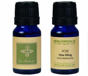 Tinh Dầu Hoa Hồng Rose Oil - Mùi hương trẻ trung, rạng rỡ, gợi cảm