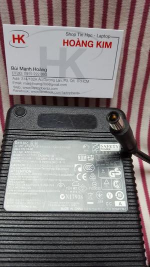 Sạc Dell 240w(19.5v-12.3A) -Dùngcho Dell Workstation M4800,M6800