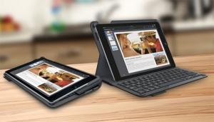 Bao Da Bàn Phím iPad Air Logitech (Đen)  - Thương hiệu: Logitech - Hàng nhập từ Mỹ - Thiết kế mỏng nhẹ, giúp Ipad chống khỏi va đập, trầy xước hay chất lỏng vô ý đổ vào - Công nghệ tiết kiệm năng lượng thông minh cho phép bàn phím tự động bật khi gắn Ipad vào bàn phím và tự động tắt khi tháo Ipad ra khỏi bàn phím - Chỉ với 1 lần sạc đầy pin, nếu mỗi ngày chỉ sử dụng 2 giờ thì thời gian dùng pin lên đến đến 3 tháng - Phím bấm được thiết kế dạng lõm, phím bấm êm tay, khoảng cách giữa các phím hợp lí giúp thao tác nhanh hơn