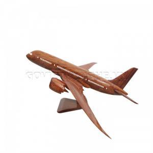 Mô hình Máy Bay Gỗ Boeing B787 (Size Nhỏ)-SKU-MDD787N