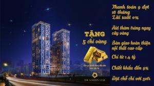 The Golden Star Tặng Ngay 5 Chỉ Vàng Cho Khách Hàng Tham Quan Nhà Mẫu Căn Hộ Hot Nhất Quận7