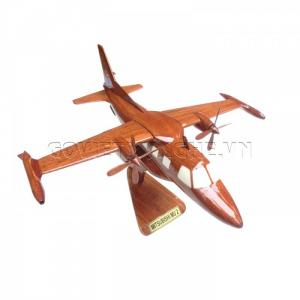 Mô hình máy bay gỗ Mitsubishi MU-2-SKU-MDDMMU2