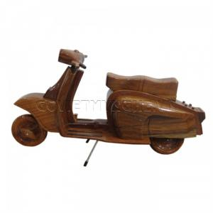 Mô hình xe gỗ Lambretta