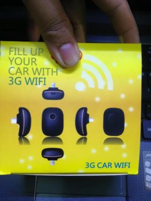 USB Phát WiFi Bằng Sim 3G.4G Cho Xe Hơi Chạy Uber.Grab