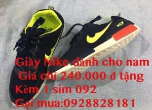 Giày nam cho các chàng giá 240.000đ tặng kèm 1 sim 092