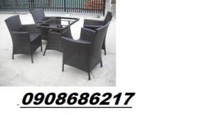 Bàn ghế cafe nhập khẩu giá 270
