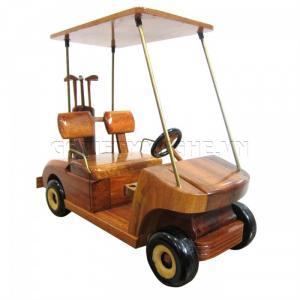 Mô hình xe gỗ GOLF Cart