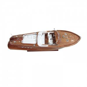 Tàu Mô Hình Riva Aquarama Gỗ/White Sofa 87cm-SKU-SPRAWW87