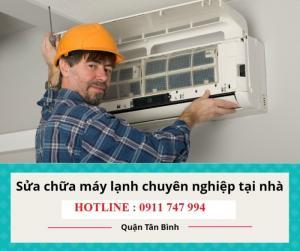 Sửa máy lạnh - Vệ sinh sạc ga máy lạnh tại nhà quận tân bình