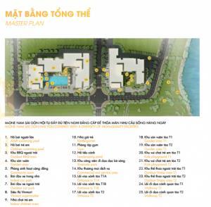 Sang nhượng giá gốc căn hộ M-one 2 phòng ngủ, tầng 21, diện tích 61m2, giá 1.55 tỉ có VAT