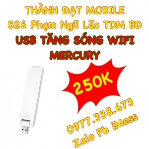 Usb tăng sóng wifi mercury giá rẻ nhất