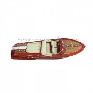 Tàu Mô Hình Riva Aquarama Sơn/Cream Sofa 55cm-SKU-SPRPC55