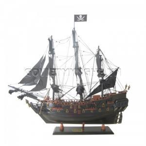Mô Hình Thuyền Cướp Biển Black Pearl 87cm(Gỗ Tự Nhiên)-SKU-TCBLP87