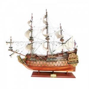 Mô hình thuyền chiến cổ Soleil Royal 80cm