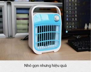 Đèn bắt muỗi UV Gerone Hàn Quốc  Núm vặn điều chỉnh, tắt/ bật đồng thời chỉnh được tốc độ gió to nhỏ. Dù chạy quạt gió nhưng không hề gây ôn ào.