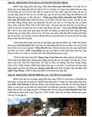 Tour Đà Lạt Tết Dương Lịch khởi hành 31/12/2016