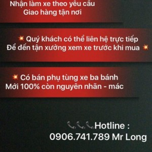 Xe Hoa lam , Xe Ba Banh Nam Dinh Ở Tp Hcm