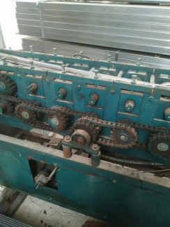 Bán 2 máy sản xuất nẹp chỉ - u kiếng