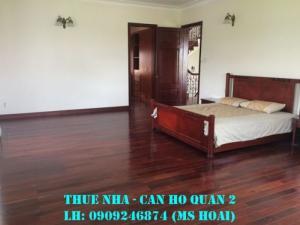 Cho thuê villa Thảo Điền, DT 300m2, hầm, trệt, 1 lửng, 2 lầu, 5pn. Giá 78tr/th.