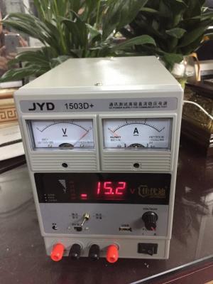Bán Máy đo sóng và cấp nguồn jyd 1503d+ (15v-3a)