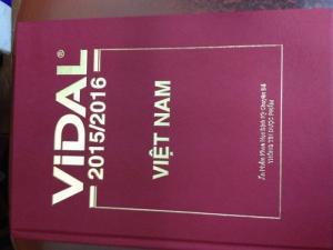 sách vidal việt nam mới nhất 2016