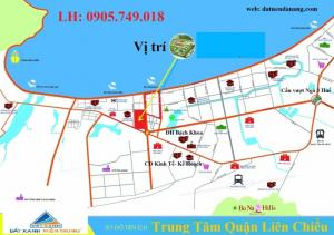 Bán Đất  + Ngay góc ngã 5 đường Nguyễn Lương Bằng Liên Chiểu