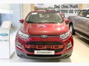 Ford Ecosport Trend 1.5, số sàn - Dòng xe đang được nhiều bạn trẻ lựa chọn