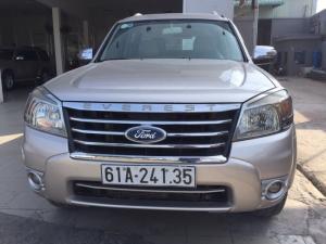 Bán Ford Everst Limited, SX 2010, Máy dầu, số tự động, màu vàng cát