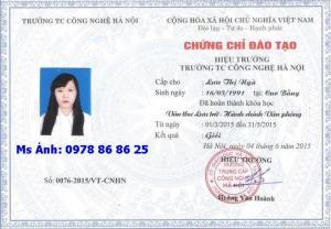 Hạ Long: Bồi dưỡng Nghiệp vụ Văn thư lưu trữ - Hành chính văn phòng: 0978 86 86 25