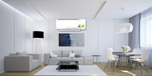 Khoảng cách hoạt động hiệu quả Máy lạnh 1.5 ngựa sẽ là sự chọn lựa hoàn hảo cho căn phòng có diện tích dưới 20 mét vuông như: phòng ngủ có 2 người, phòng làm việc, học tập, phòng giải trí với không gian không lớn. Máy lạnh Daikin FTKC35QVMV 1.5 HP  mang lại những luồng không khí mát lạnh cho bạn và cả nhà luôn cảm thấy thoải mái và dễ chịu nhất.