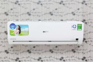 Máy lạnh Inverter giá rẻ công nghệ Nhật Bản Máy lạnh Sanyo 1.5 HP SAP-KCRV12WGS là chiếc máy lạnh Inverter tiết kiệm điện giá rẻ đến từ Sanyo. Tuy có mức giá khá dễ chịu nhưng máy vẫn sở hữu nhiều tính năng cùng vẻ ngoài đơn giản mà tinh tế đi cùng sắc trắng dịu mắt dễ dàng làm nổi bật mọi không gian nội thất.