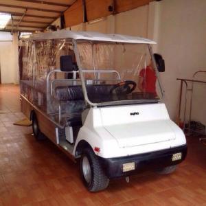 Xe điện chở hàng thùng lửng tại hà nội
