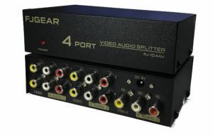 Bộ chia tín hiệu AV (Video & Audio) vào 1 ra 4