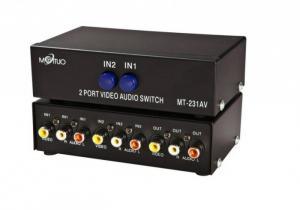 Bộ gộp tín hiệu AV (Video & Audio) 2 vào 1 ra