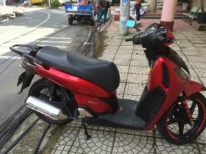 SH 150 nhập khẩu đỏ đen