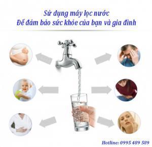 Lọc nước tại vòi TCL LC102