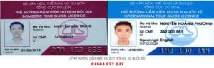 Thẻ hướng dẫn viên du lịch nội địa và quốc tế