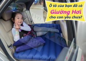Nệm hơi ô tô dùng cho xe suv, sendan, pickup hót nhất 2017