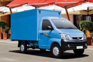 , xe tải nhẹ máy xăng tải trọng dưới 1 Tấn lưu thông đường hẻm nhỏ có máy lạnh cabin