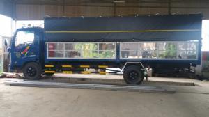 Xe tải VEAM VT260 1.99T - Thùng Dài 6.2M Vô TP