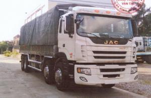 Xe tải jac 4 chân (jac 4 giò)/ jac hfc1304k1r1lt hỗ trợ vay vốn lên đến 90%