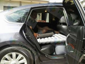 Lắp đặt nệm hơi ô tô xe nissan teana