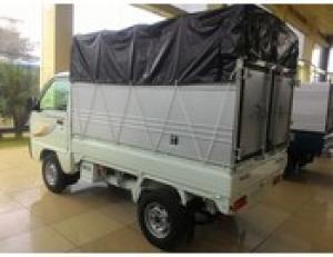 Xe thùng bạt 5 tạ- THACO TOWNER 750A Thùng Bạt