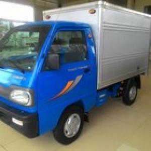 Xe thùng kín 5 tạ   - THACO TOWNER 750A thùng kín