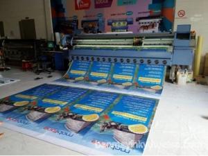 Máy in phun kỹ thuật số khổ lớnAllwin Konica 3208 (KM512) có khả năng in Hiflex - Lụa - Decal và các loại vật liệu in quảng cáo khác. Với chất lượng in vượt trội và tốc độ in nhanh, Máy in phun kỹ thuật số khổ lớn Allwin 3208 (KM512) là lựa chọn đúng của các công ty in ấn quảng cáo. MÁY ALLWIN KONICA 3208-4H Khổ máy     3300mm Đầu phun     Konica K512/42pl/35pl  made  in Japan Tốc độ in     4 đầu phun KONICA (K512/35PL) Sole DPI 1440 180x720dpi 2pass 47m2/h 240x540dpi 3pass 40m2/h 360x720dpi 4pass 30m2/h