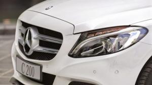 Mercedes C200 Trắng-Kem vay NH 80% giá xe lãi suất ưu bao duyệt hồ sơ hỗ trợ 50% trc bạ