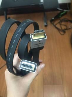Thanh lí dây HDMI hàng tốt giá rẻ bèo như cho !