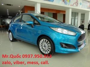 Ford Fiesta Hộp số tự động 6 cấp ly hợp kép. tiết kiệm nhiên liệu tối đa